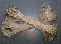 1.5mm x 100m  polishing waxed hemp rope  natural craft hang tag rope package tie up rope free shipping 2 colors