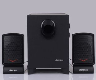 Computer speaker multimedia 2.1 subwoofer notebook desktop home audio yx8