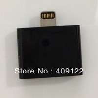 Free shipping CN 1pcs/lot 8 pin to 30 pin Adapter Cable For iPhone 5 iPod black  item