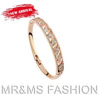 Free Shipping TOP Sales Australia Crystal Bracelet Conventions Life Forever Love Waltz Full Rhinestone Bracelet 716