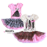 Children's clothing female child 2013 summer girls dress free shipping