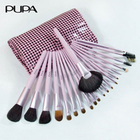Pupa 21 animal wool makeup brush set makeup tools full set of combination brush set