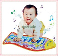 Baby Kid Child Piano Music Fish Animal Mat Touch Kick Play Fun Toy Gift New(China (Mainland))