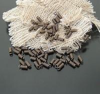 cord coil, iron material, 6x3mm, antique brass, 2000pcs/bag