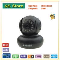 Wanscam HW0021 H.264 HD Mini Dome Wifi Webcam Camera Support 32G SD Card Storage 720p IP Camera