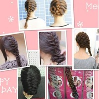 French 18 fashion hairpin diy