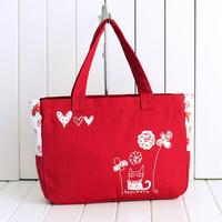 2014 canvas bag women's handbag fashionable casual all-match preppy style bag shoulder bag fashion bag
