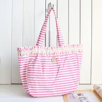 2014 new fashion handbag canvas bag women's handbag bag preppy style all-match lace shoulder bag