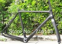 FR-601 Full Carbon Matt Cyclocross cross Bike Frame BSA  , Fork , Headset -  51cm, 53cm, 55cm, 57cm