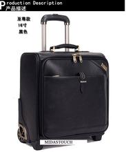 popular leather suitcase