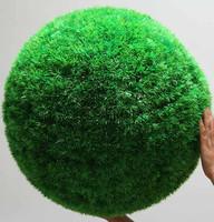 Artificial plants plant big bouquet grass ball decoration flower home hangings green big round ball grass ball