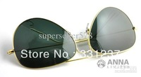 3025 male and female couple sunglasses with box Certificate cleaning cloth