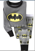 6sets/lot baby wear set 100% conton baby long sleeve pajamas boy's and girl's underwear clothing sets kids clear suits sets A046