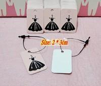 2013 new mini tag! Gift Tag retro tag (350 grams kraft paper material) 100pcs/lot, free shipping / 079
