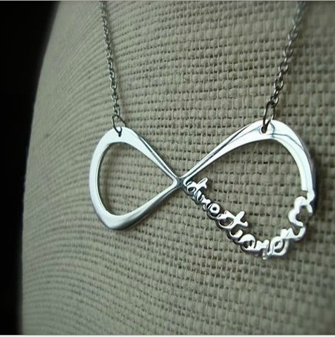 2014 N243 new dsign jewlery one direction and infinity symbol pandent necklace free shipping(China (Mainland))