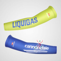 2012 LIQUIGAS Pro Team Arm Cool Bike Sun protective sleeves, Bicycle Anti-UV Arm protection, Cycling Arm sleeve covers