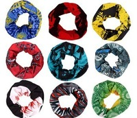 20 pieces/lot Changeable Magic bandanas outdoor sports scarf riding scarf  Free Shipping