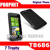 7 Trophy Original T8686 GSM Unlocked mobile phone  WP7 Cell Phone Mobile 5MP GPS WIFI
