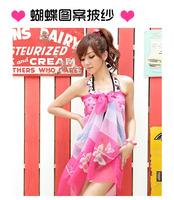 Bikini sun yarn hot-selling all-match multicolour large mantillas style beach towel