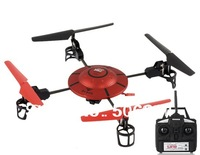 Free shipping + Jinxingda 2.4G 4-Axis & 4-Channel Aircraft with Camera and SD Card Reader (Red)