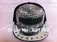 Rivet Hat Snapbacks Snap Back Rivets Cap Hats Adjustable Punk Snapback Caps Baseball caps