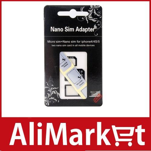 Нано сим карта для iphone 5