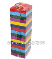 Kids wooden toys - Toys building bricks/ digital building blocks/ colorful wooden Jenga