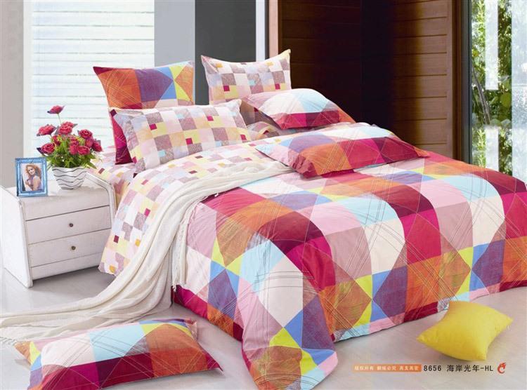 achetez en gros couvre lit color en ligne des grossistes couvre lit color chinois. Black Bedroom Furniture Sets. Home Design Ideas