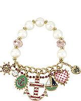 Over 15 $ Free shipping Fashion bj pearl bracelet 130409  Wholesale