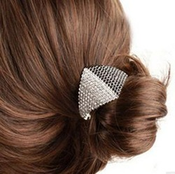2013 popular hair accessory rhinestone horseshoers buckle beautiful hairpin hair pin female hair accessory(China (Mainland))
