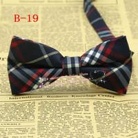 Brand New,Men Cotton Diamond Tartan Check Plaid pre-tie adjustable Tuxedo party bowtie,mens wedding groom Bow tie/butterfly,B19