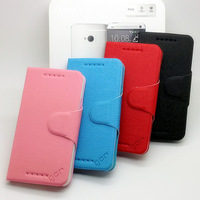 High Quality Ultrathin rollover Leather case for HTC One M7Free Shipping Wholesales