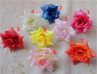 silk artificial rose flowers head for Wedding valentine's day party decoration