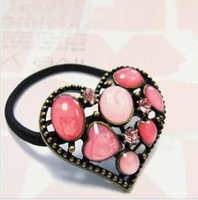 Sunshine jewelry store fashion adorable heart hairband hair accessory for female f75 (min order $10 mixed order)