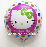 18-inch Round Cartoon Hello Kitty Foil Balloons Birthday Party Balloons Graduation Decoration Balloons Kids Inflatables Toys