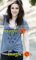 Shanghaimagicbox Fashion Kristen Stewart Stylet Bella Five Arrow lovely T-shirt Tee TS305