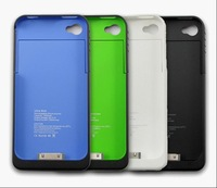 1900 MAH for iPhone Battery Case For iPhone 4 Battery case,mobile power Free shipping