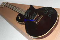(Free shipping) Custom Standard  Electric Guitar brown color China producer factory store