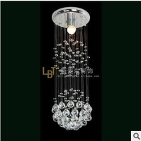 Free shipping high-quality fashion crystal lines living modern crystal chandelier chandelier 2258-1BSME