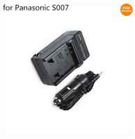 Battery Charger for Panasonic CGA-S007 S007A S007E Lumix DMC TZ4 TZ5