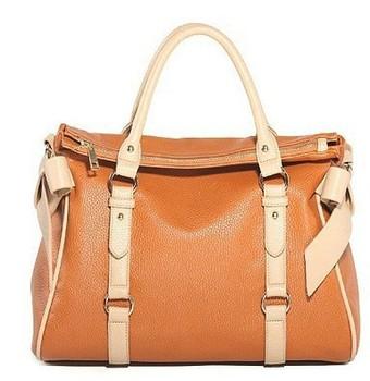 fashion casual femail Genuine Leather Tote Handbag shoulder bag for women 2013 designer, holesale, free shipping S8481