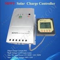 MPPT 30A Solar Charge Controller Regulator 12/24V Max PV Input 150V