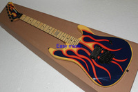 (Free shipping)Inventory sale  Kramer flame 5150 Electric Guitar