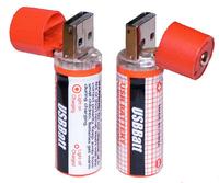 20 pcs USB AA Battery USB Rechargeable AA NiMh Charger Battery 1450mAh