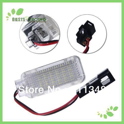 EMS/DHL free shipping wholesale 15pair LED License Plate Lamp Fit AUDI A3/S3 A4/S4 A6/C6 Q7 RS4 White(China (Mainland))