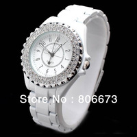 HK Post Freeshipping! 2013 new design cheap swiss Gift! top brand Sinobi fashion quartz womens watch With bling Stone