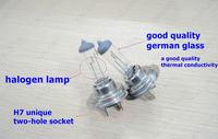 2X H7 type for Philips new halogen car headlight bulbs warm white halogen lamp kit  12V 55W AAA