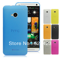 Simple Ultra Thin Plastic Matte Clear Case For HTC One M7