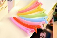 hot selling good quality fashion plastic Hair Clip pin accessory ornament  clamp  hairgrip  barrette free shipping