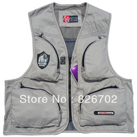 Outdoor  fishing vest  recreation clothing  photography waistcoat the outdoor  advertising coat